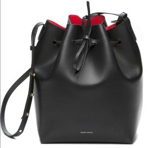 Mansur Gavriel Black Bucket Bag